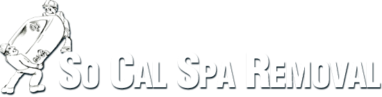 So Cal Spa Removal Logo, Jacuzzi Removal, Spa Removal, Deck Removal, and Gazebo Removal