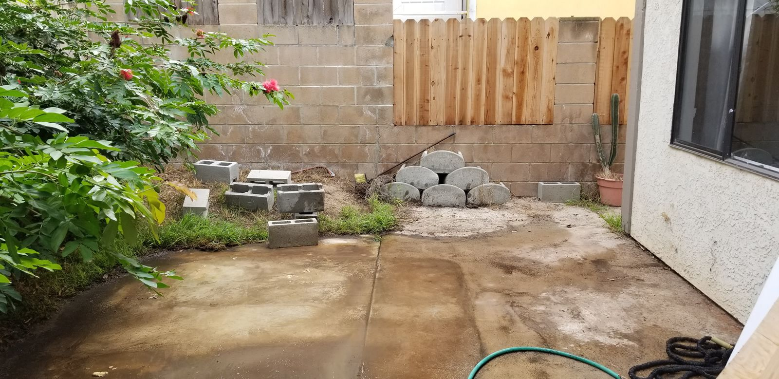 Above ground hot tub removal in Temecula CA after